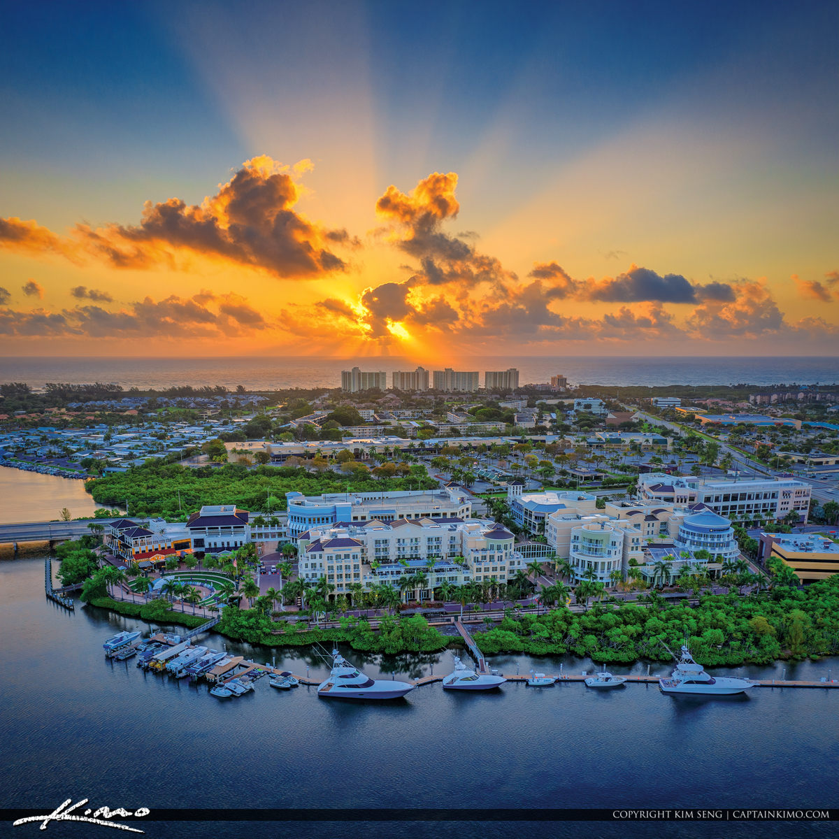 Jupiter Florida Sunsrise Atlantic Ocean View Harbourside Place