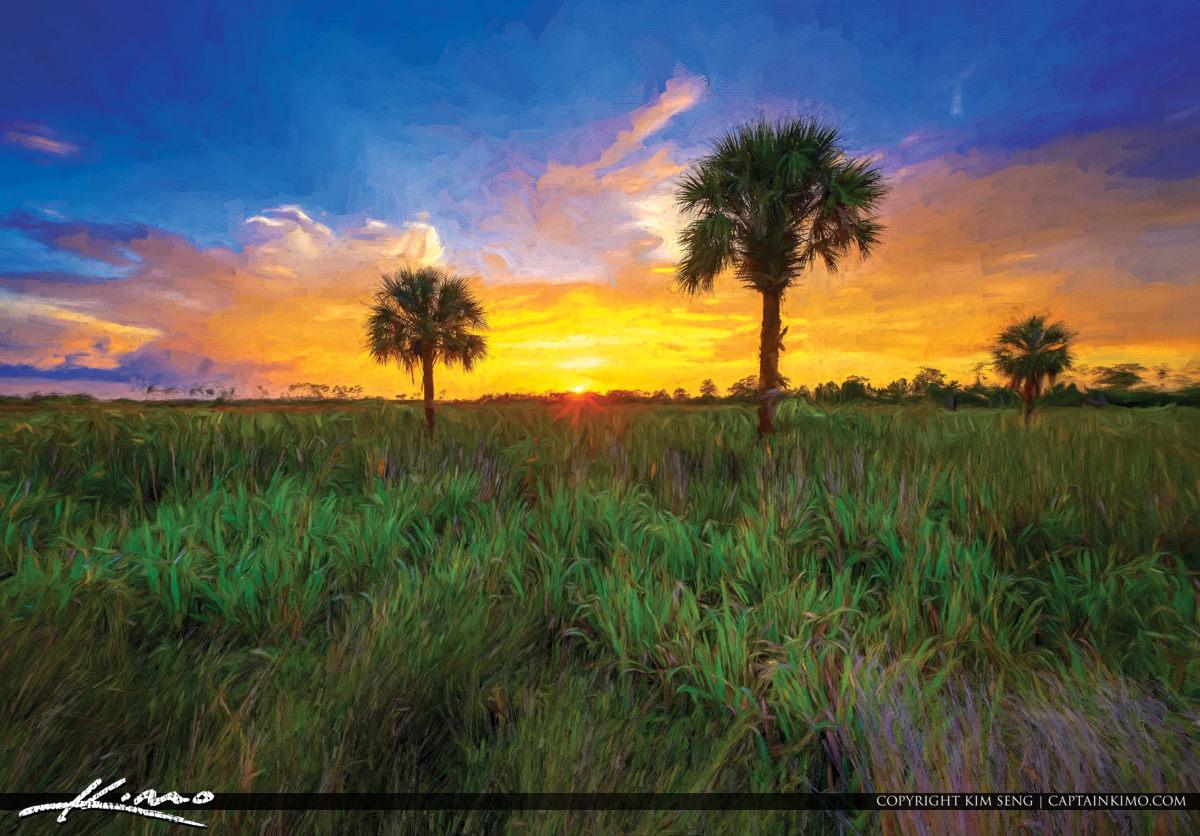 Florida Landscape Painting Art