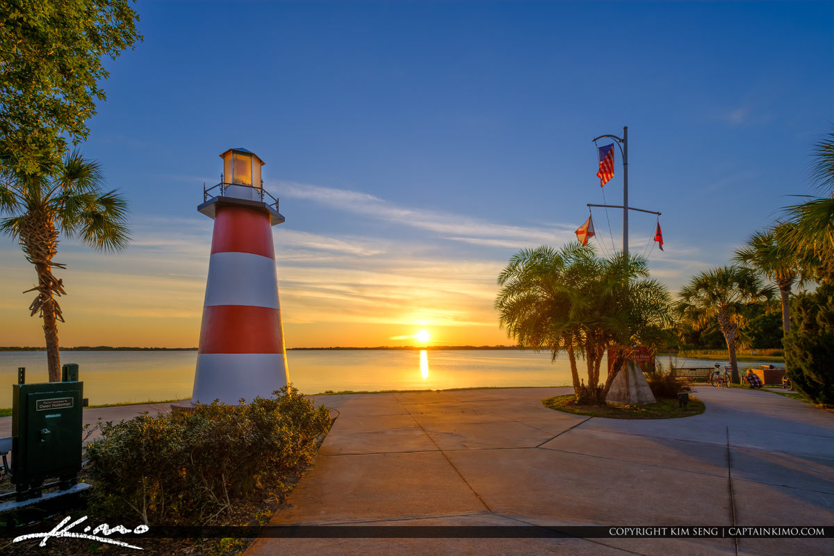 Sunset from Mount Dora at the Lighthouse