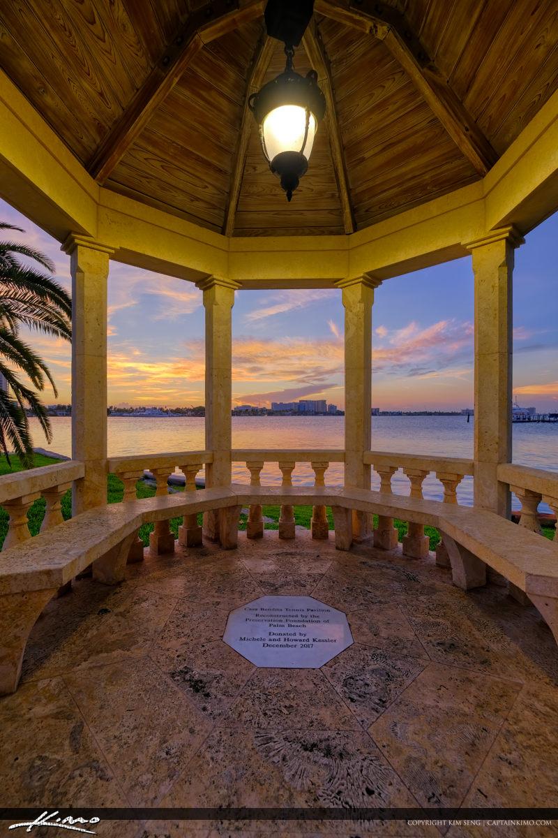 Pavilion Sunset Park Palm Beach