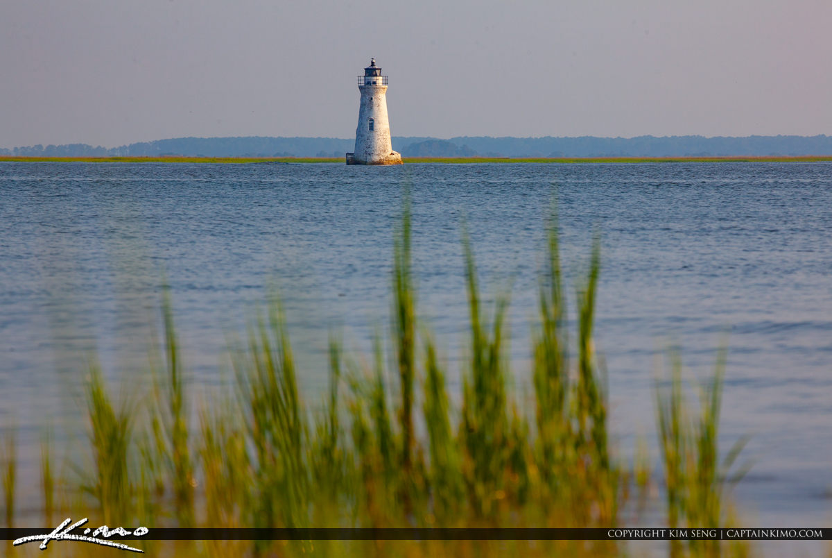 Cockspur Island Lighthouse Savannah River Georgia