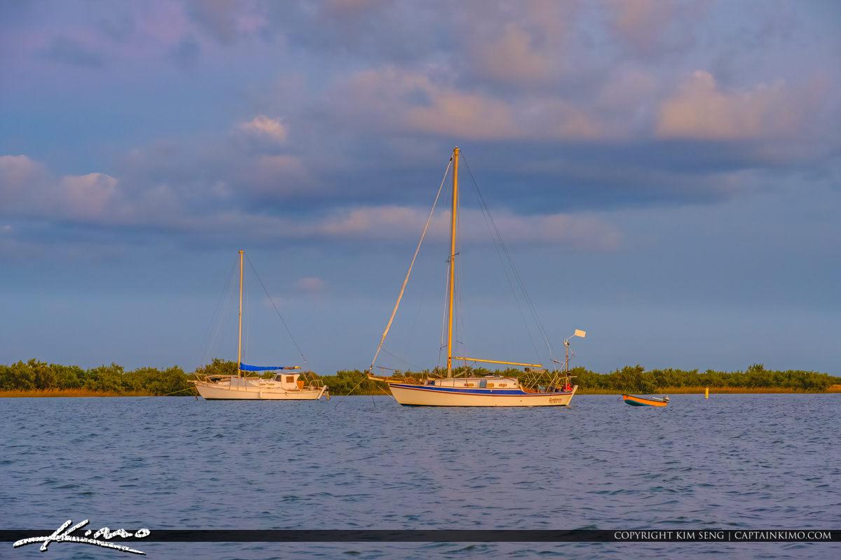 Sailboats Boating Lighthouse Park St Augustine Florida