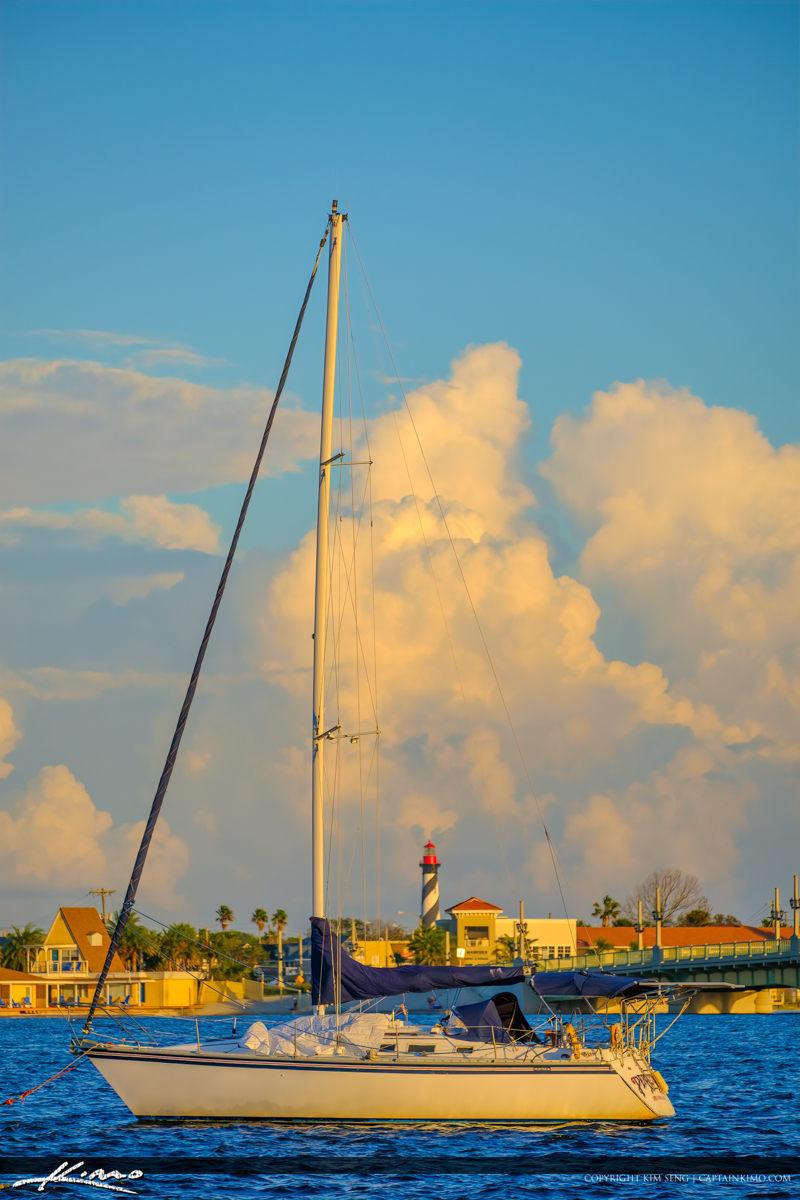 Boat Matanzas River St Augustine Florida