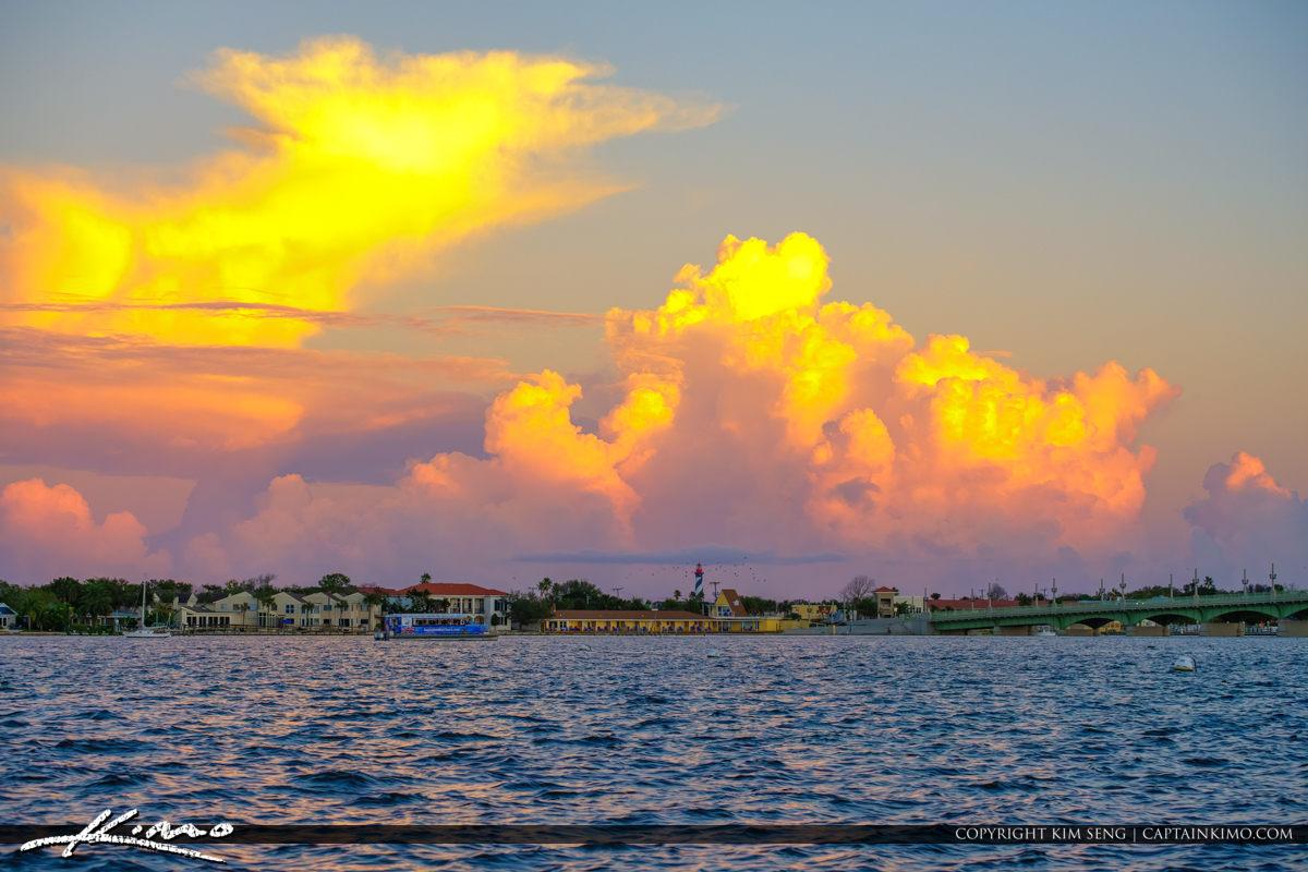 Matanzas Bay River Waterway St Augustine Florida