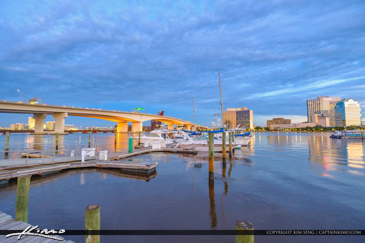 Jacksonville Marina Acosta Bridge Expressway