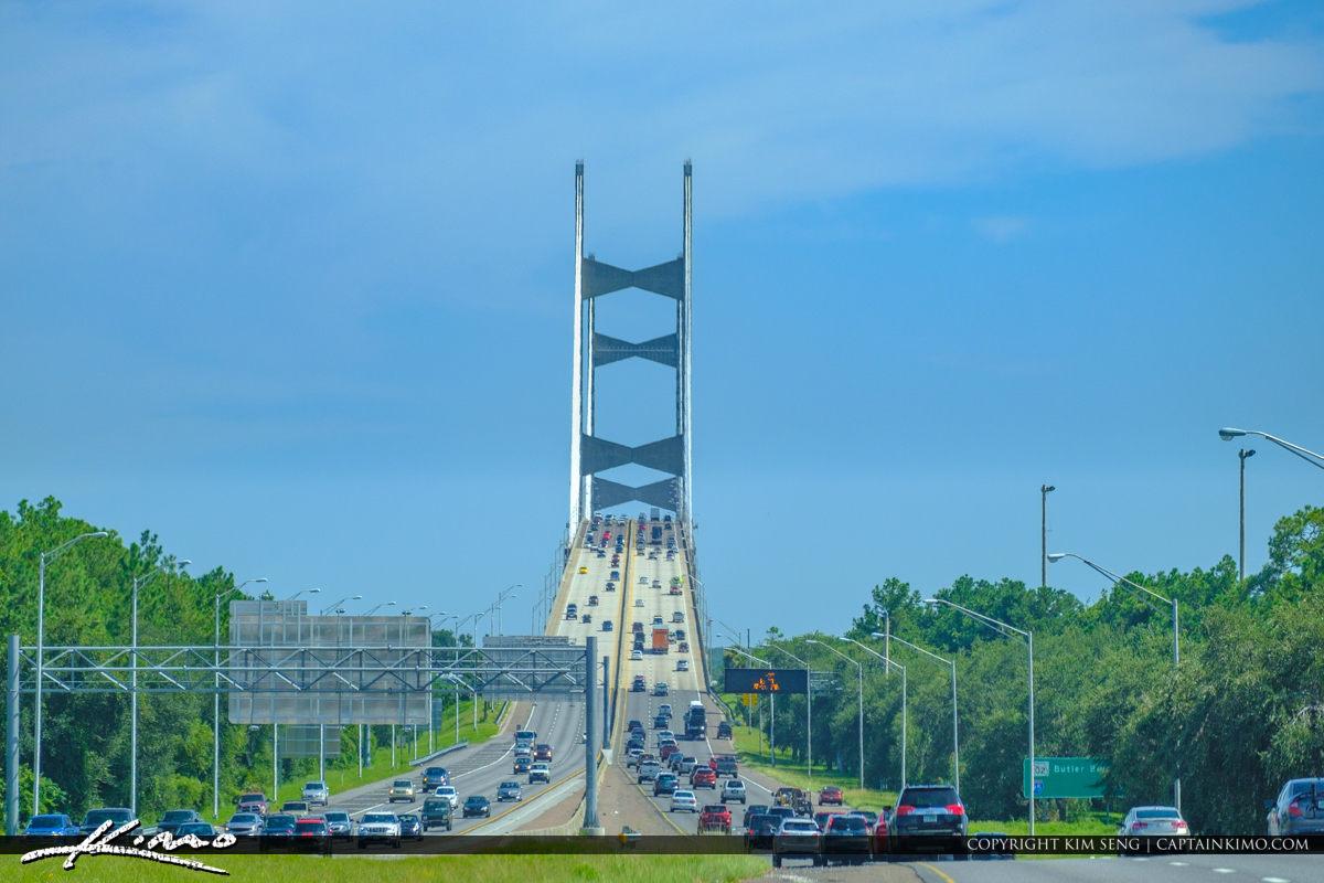 Dames Point Bridge 295 Beltway Bridge Jacksonville Florida