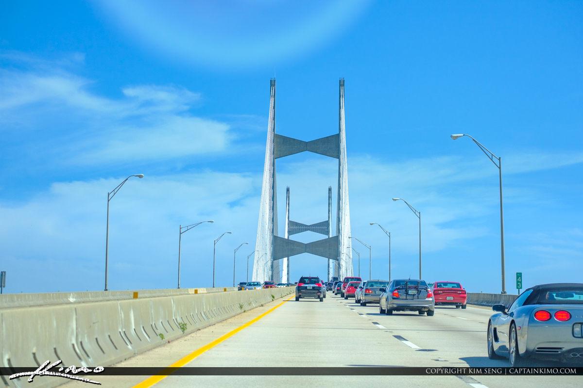 295 Beltway Bridge Jacksonville Florida Dames Point