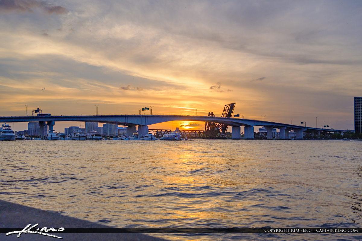 Acosta Bridge Downtown Jacksonville Florida