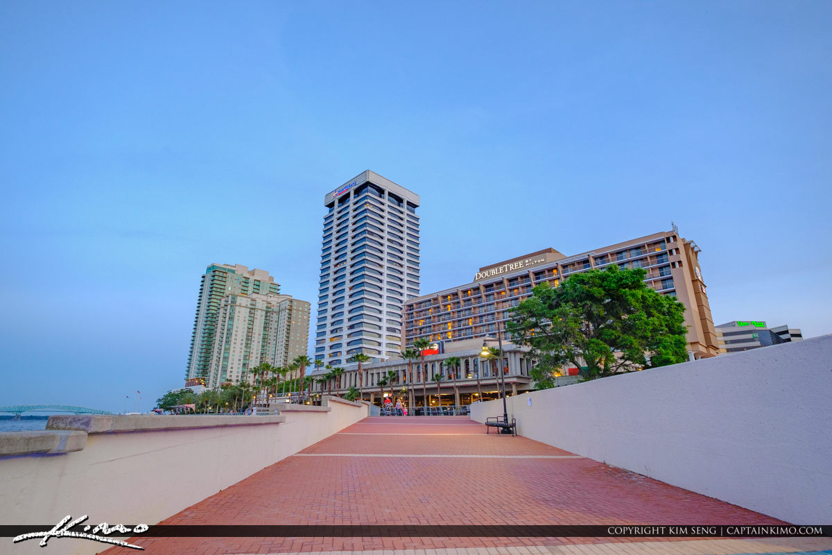 Southbank Riverwalk St Johns River Jacksonville Florida