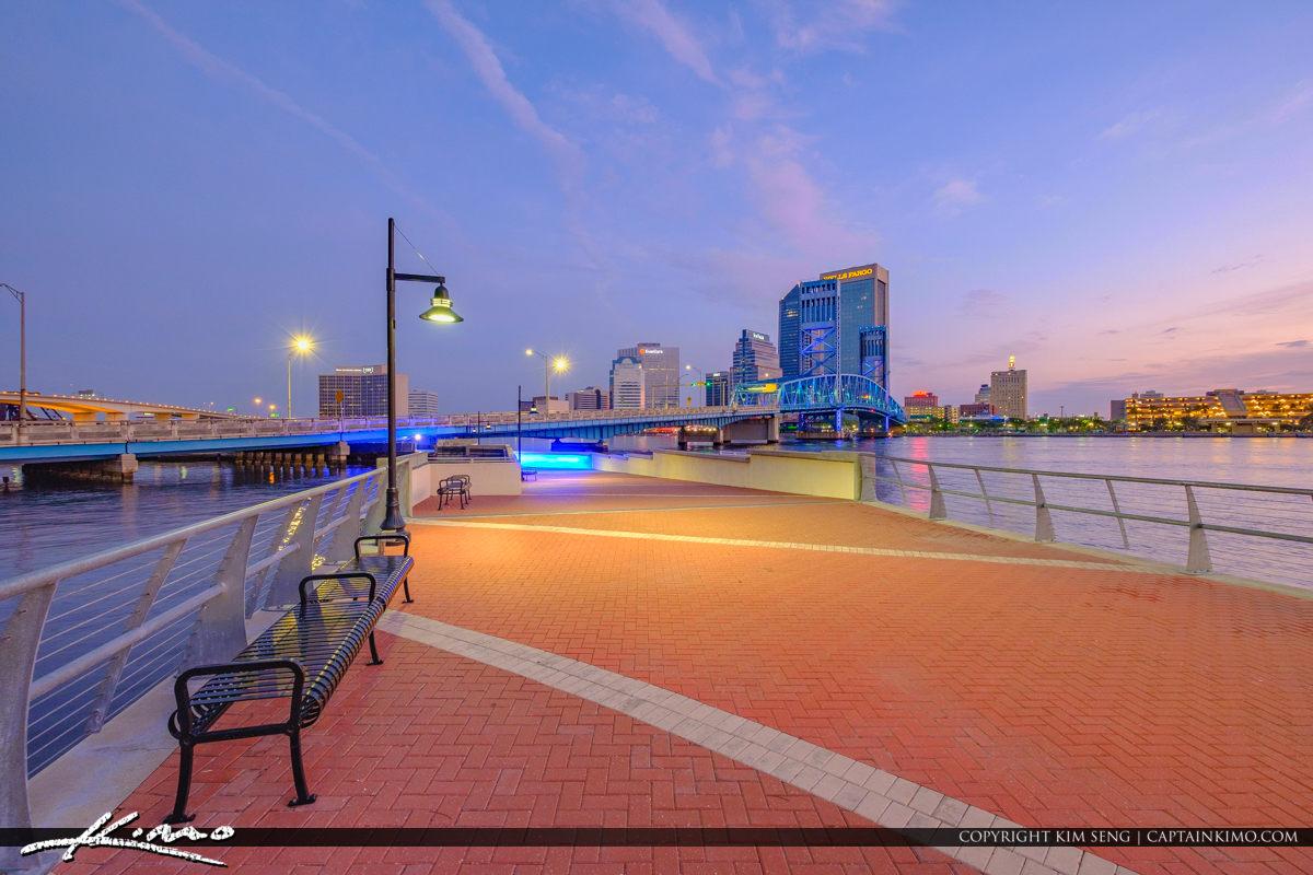 Mosaic at Southbank Riverwalk in Downtown Jacksonville