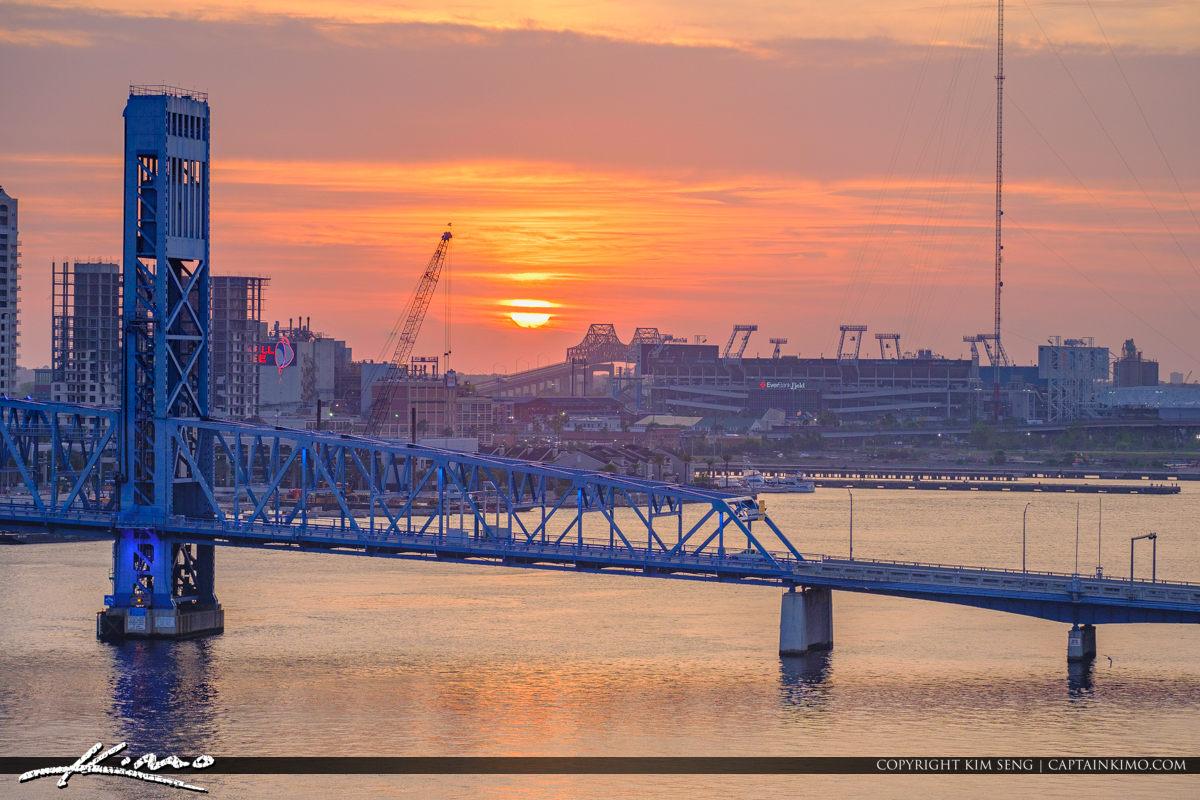 Main Street Bridge Jacksonville Florida St Johns River