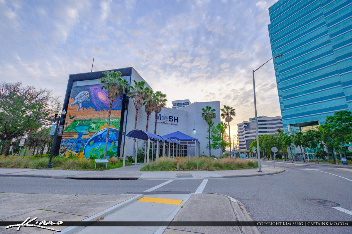 Museum of Science and History Jacksonville Florida Downtown