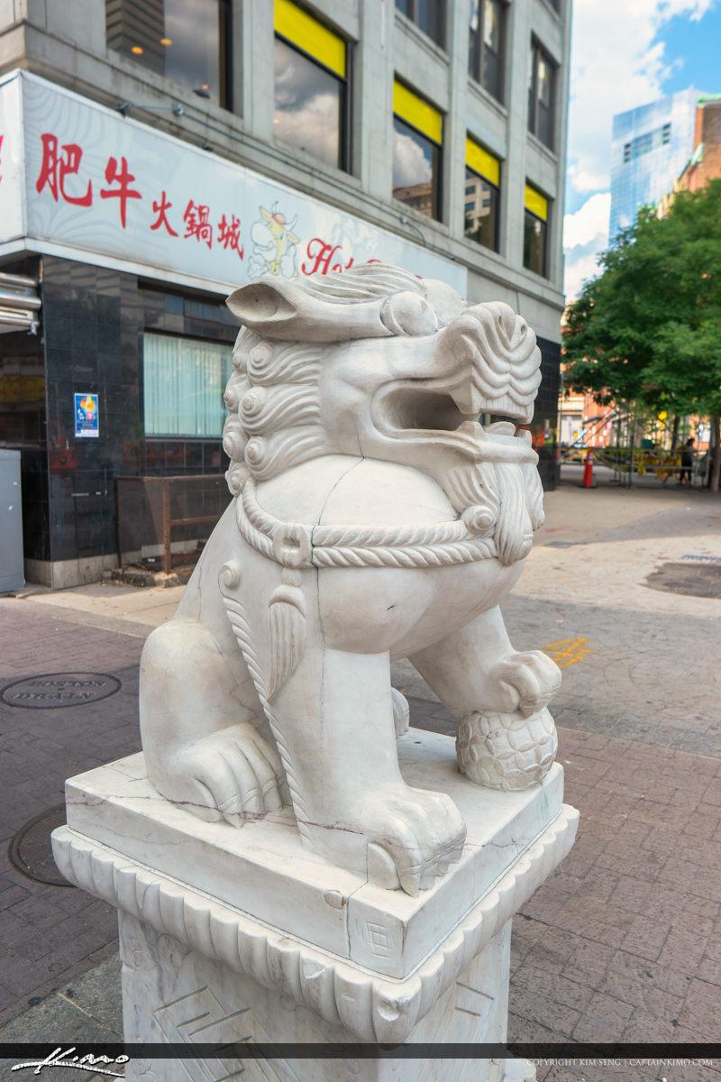 Chinatown Boston Massachusetts
