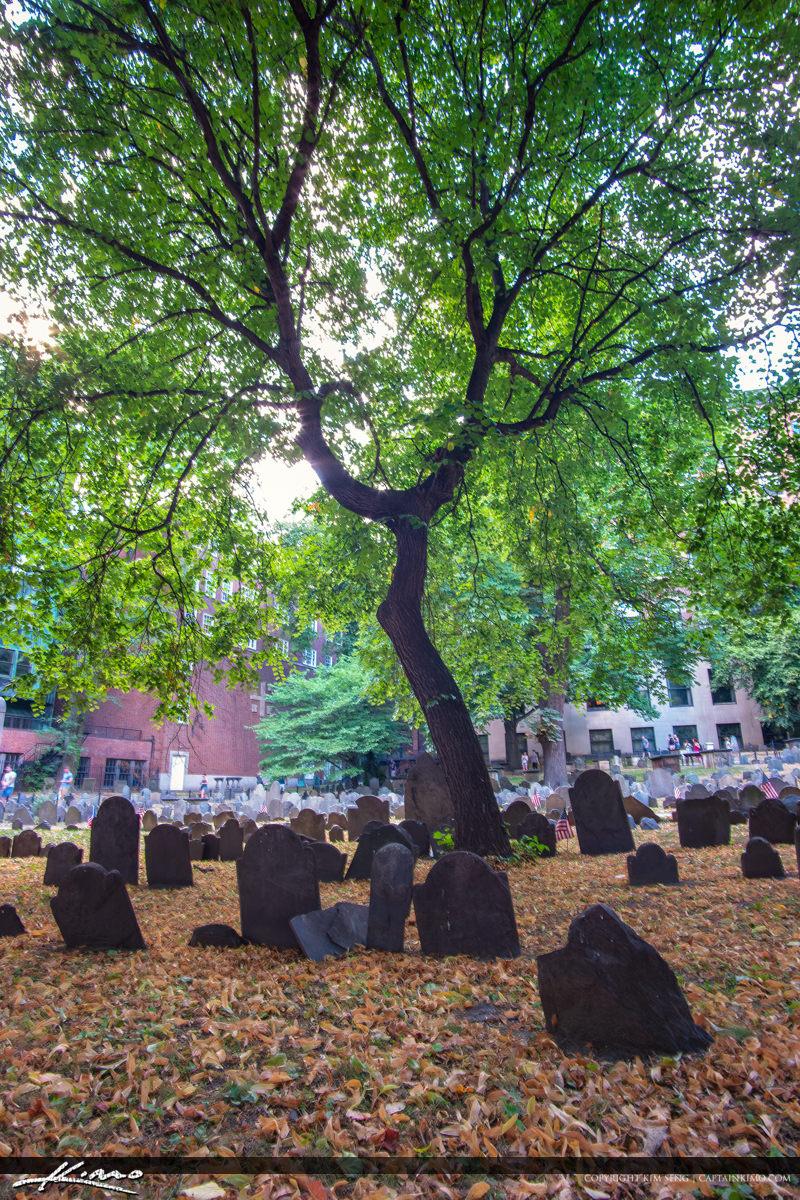 Granary Burying Ground Boston Massachusetts