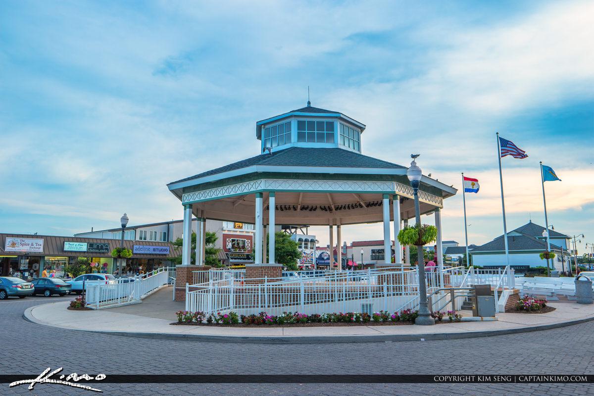Rehoboth Beach Bandstand Delaware