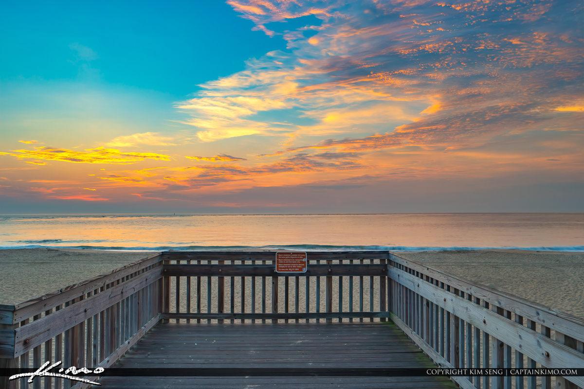 Delaware National Seashore South Inlet along the Beach