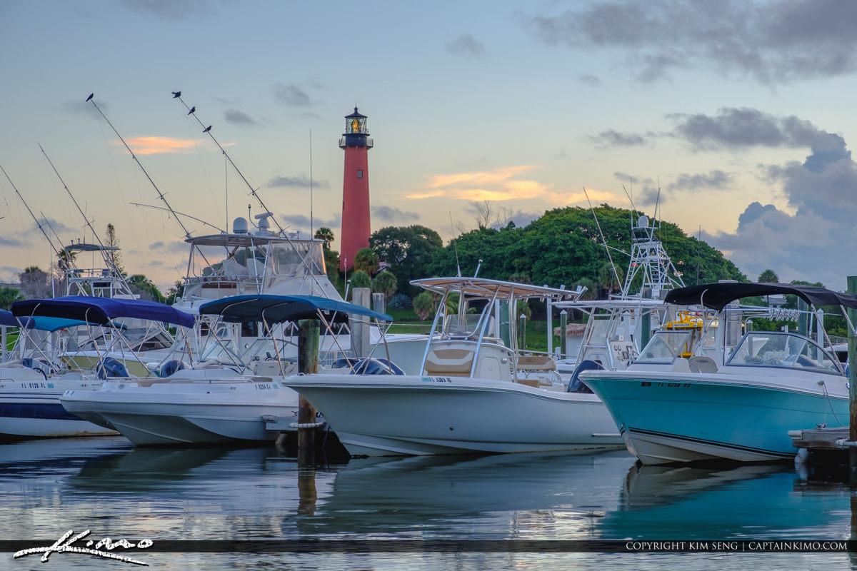 Jupiter Lighthouse and Boats