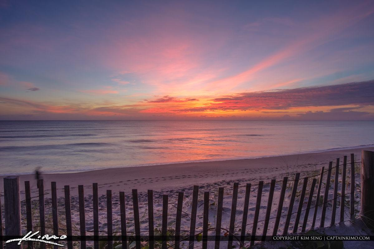Coral Cove Park Sunrise at the Beach