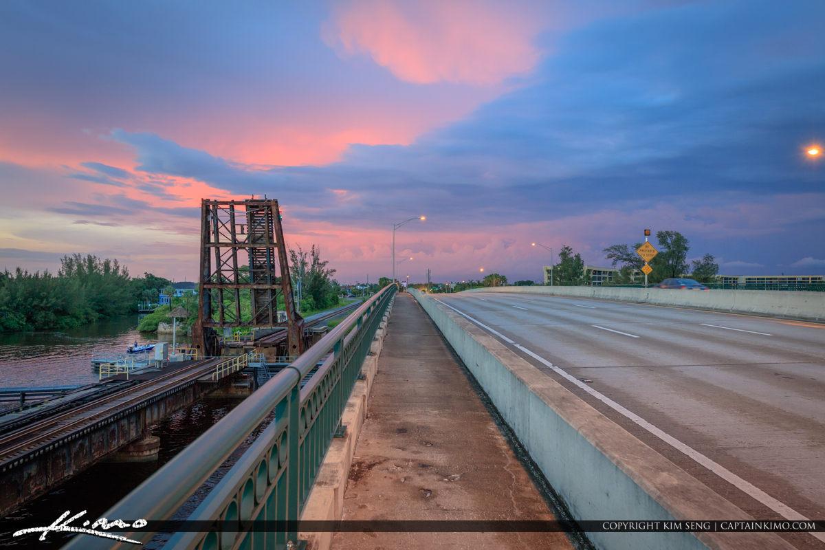 Jupiter Florida Railroad Bridge