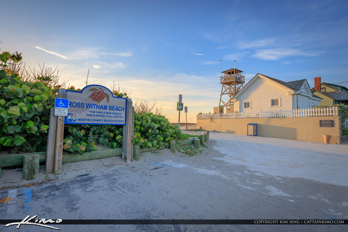Ross Witham Beach Stuart Florida House of Refuge