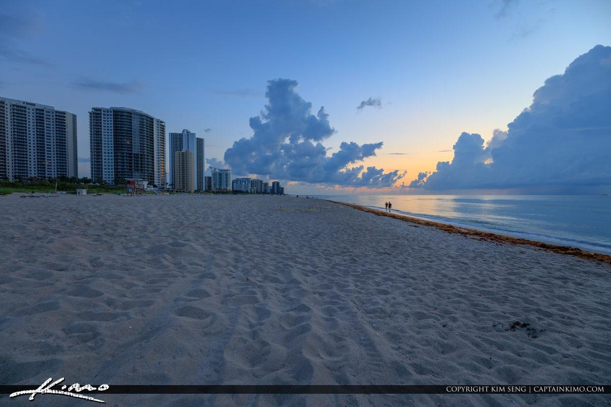 Singer Island Florida Sunrise at Riviera Beach