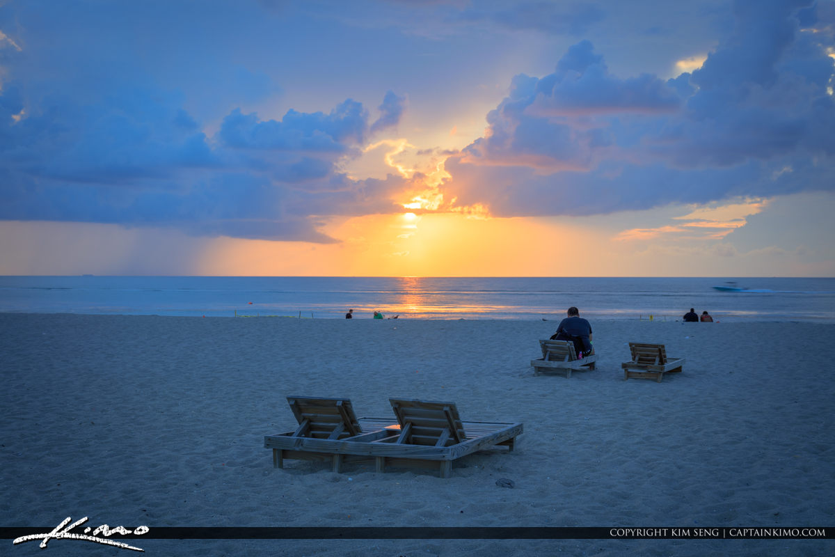 Singer Island Florida Sunrise at Riviera Beach