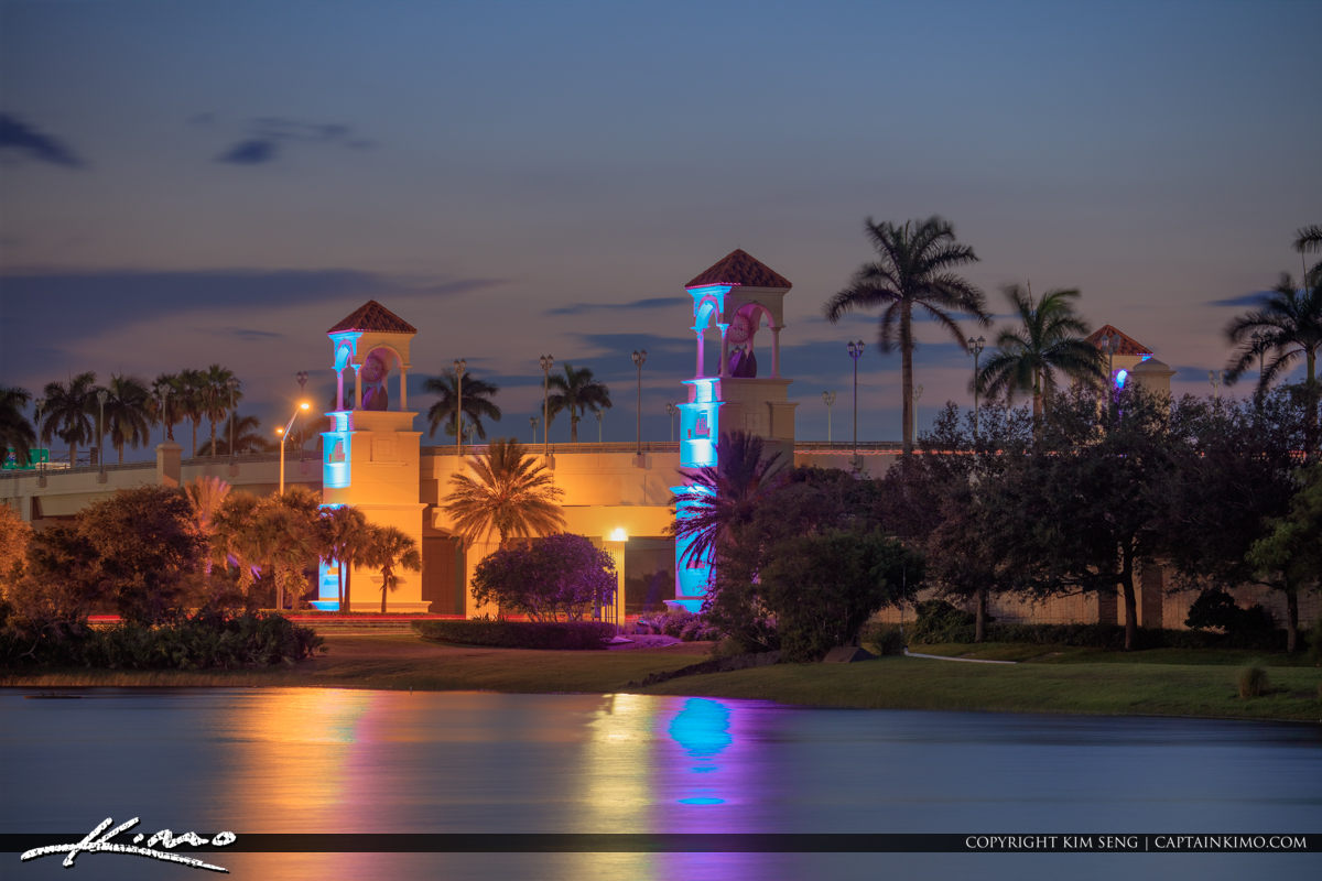 Palm Beach Gardens Skyline