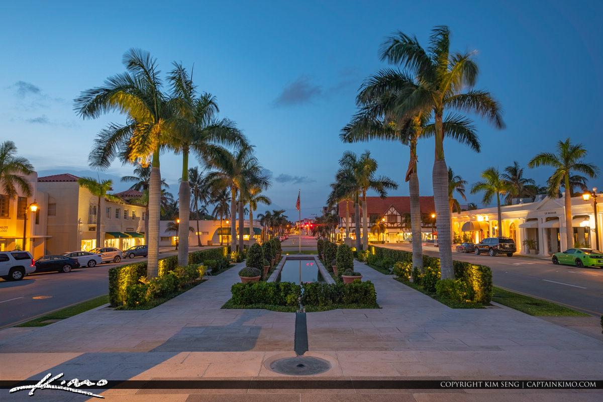 Palm Beach Historic Water Fountain