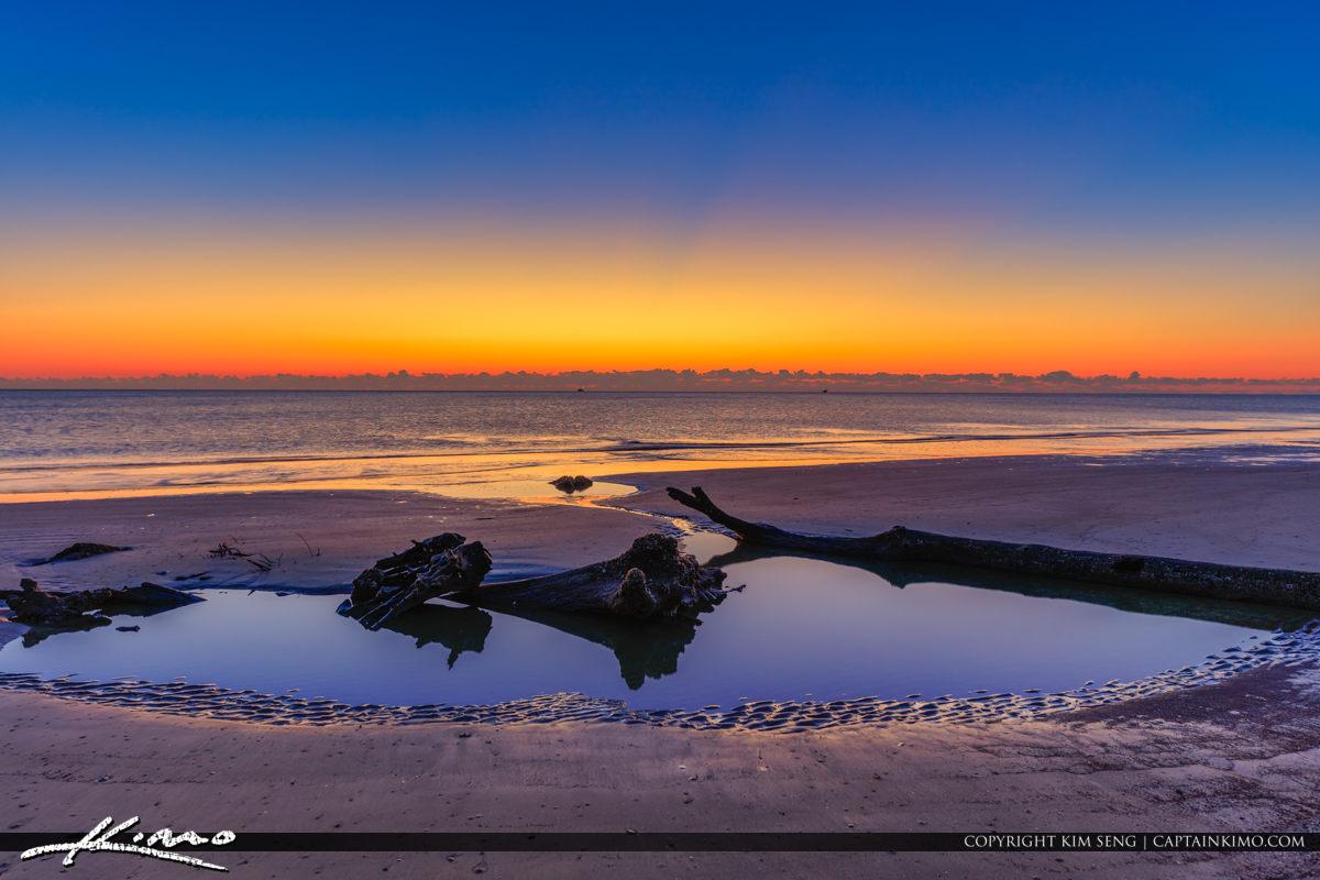Sunrise on Drifwtood Beach