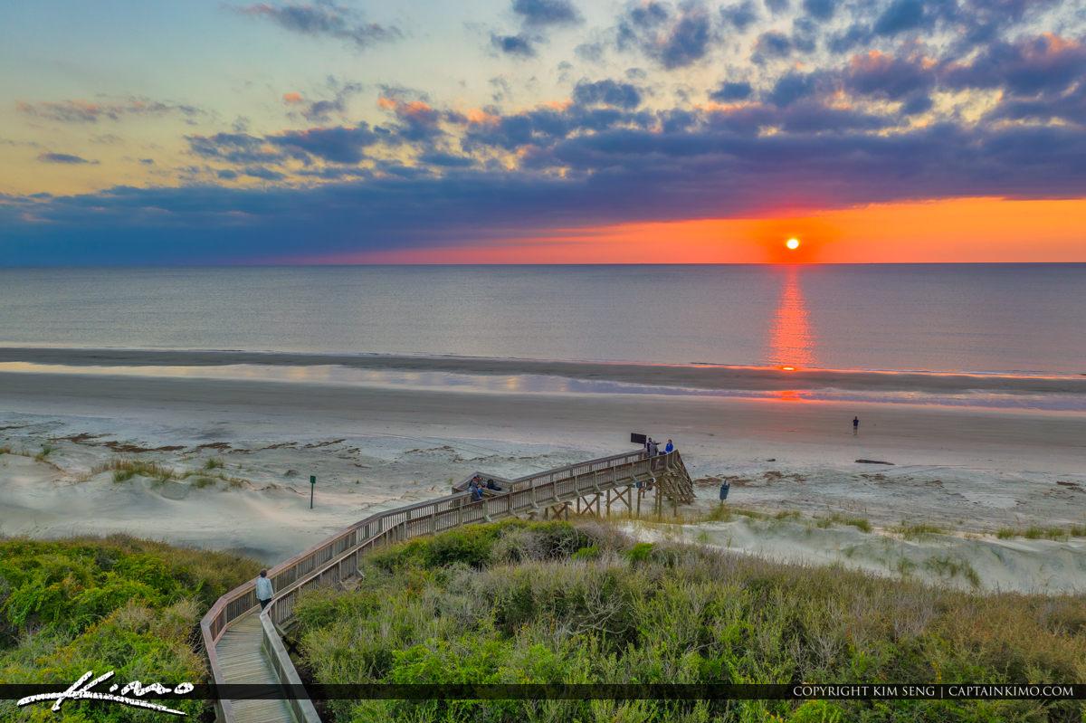 Hampton Inn Jekyll Island Georgia Sunrise