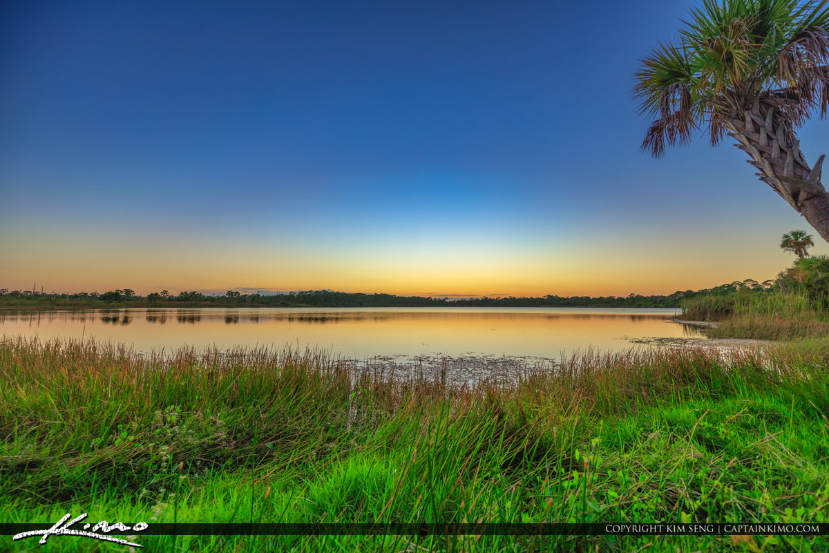 George LeStrange Preserve Lake Zobel Fort Pierce Florida