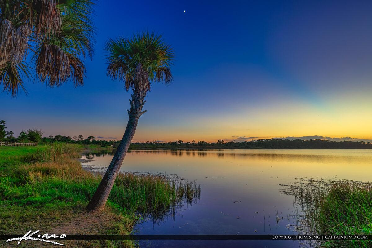 George LeStrange Preserve Lake Zobel Fort Pierce Florida