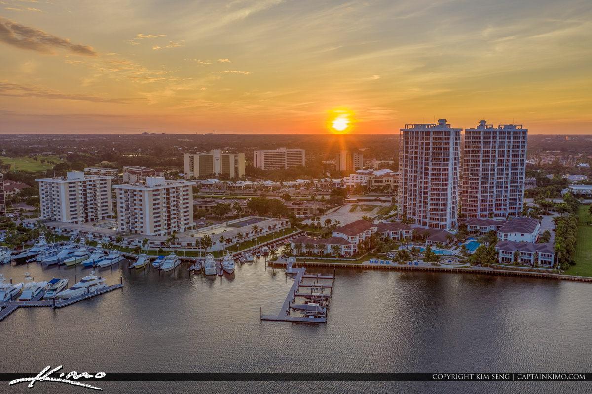 Sunset WaterWay Palm Beach Florida
