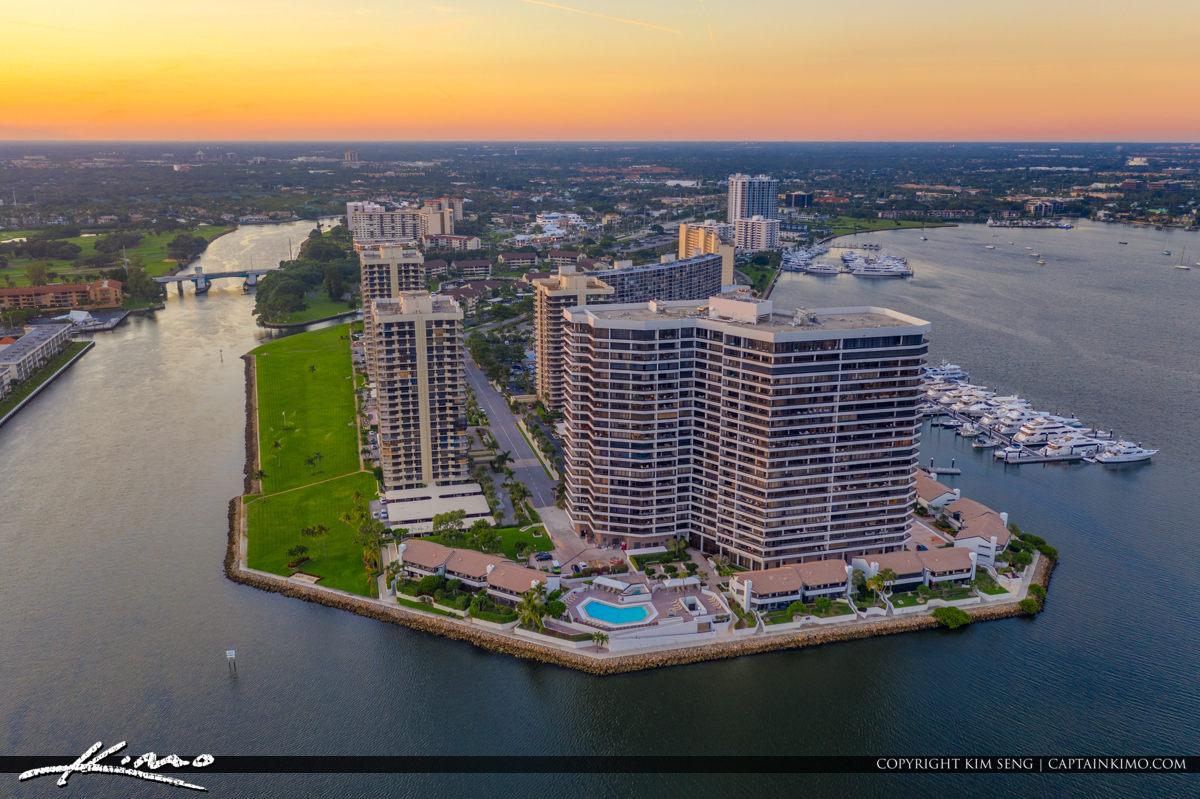 Noth Palm Beach Condos Sunset WaterWay