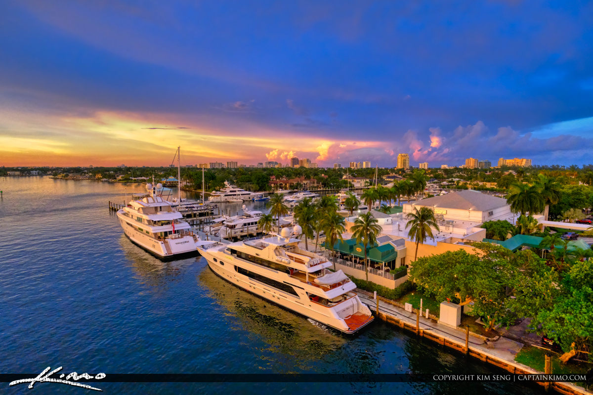 Final Fort Lauderdale Luxury Yacht at Dock