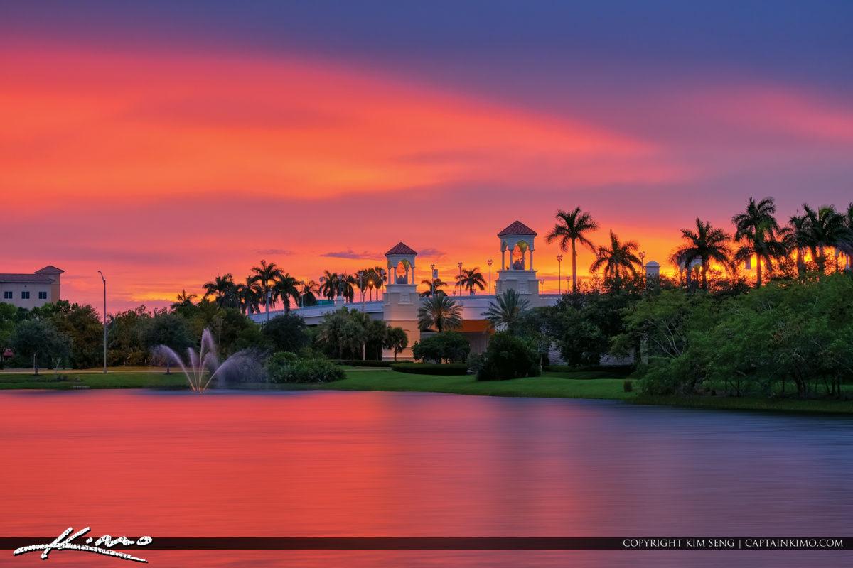 PGA Flyover Bridge Palm Beach Gardens