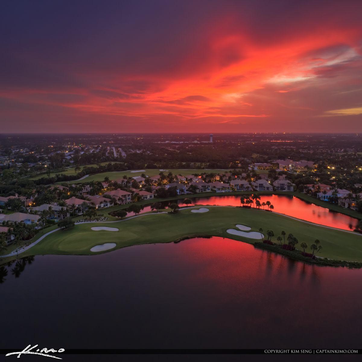 Palm Beach Gardens Sunset Golf Course