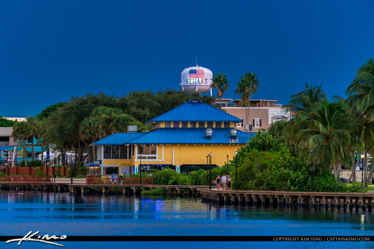 Water Tower Boardwalk Mulligans Stuart Florida 200918