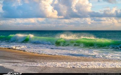 Wave Break Atlantic Ocean Juno Beach Florida 200915