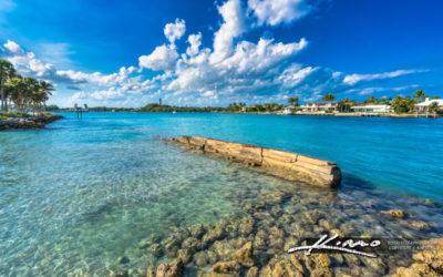 Clear Blue Water Dubois Park Jupiter Florida Palm Beach County