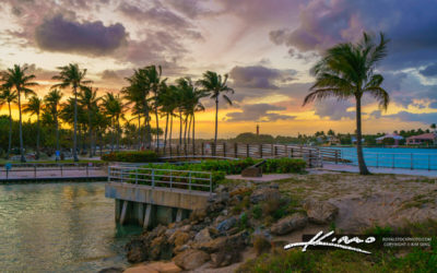 Dubois Park Jupiter Florida Sunset