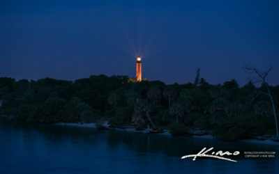 Jupiter Lighthouse Morning Lights