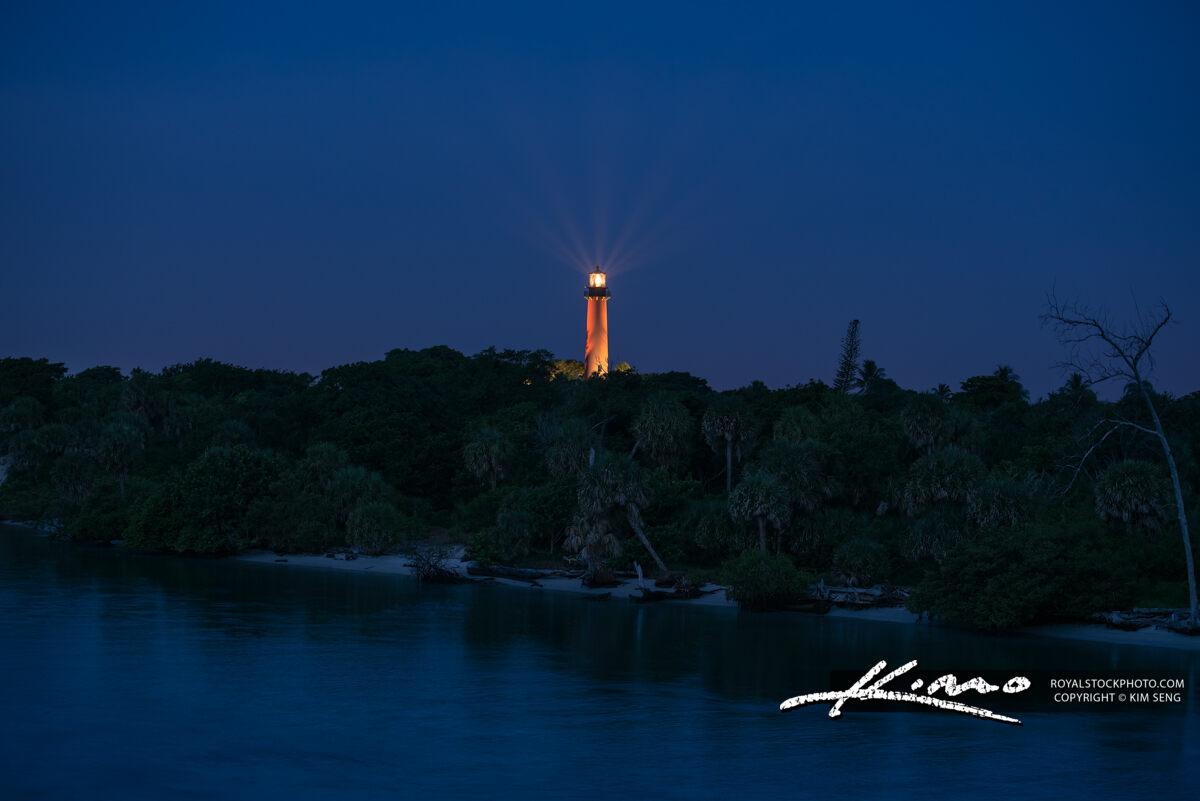 Jupiter Lighthouse Morning Lights