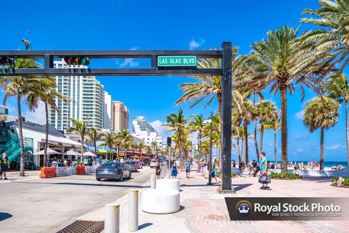 Street Sign Las Olas Fort Lauderdale