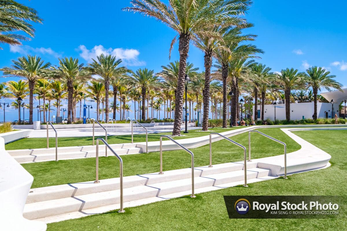 Outdoor Park Las Olas Oceanside Beach Fort Lauderdale