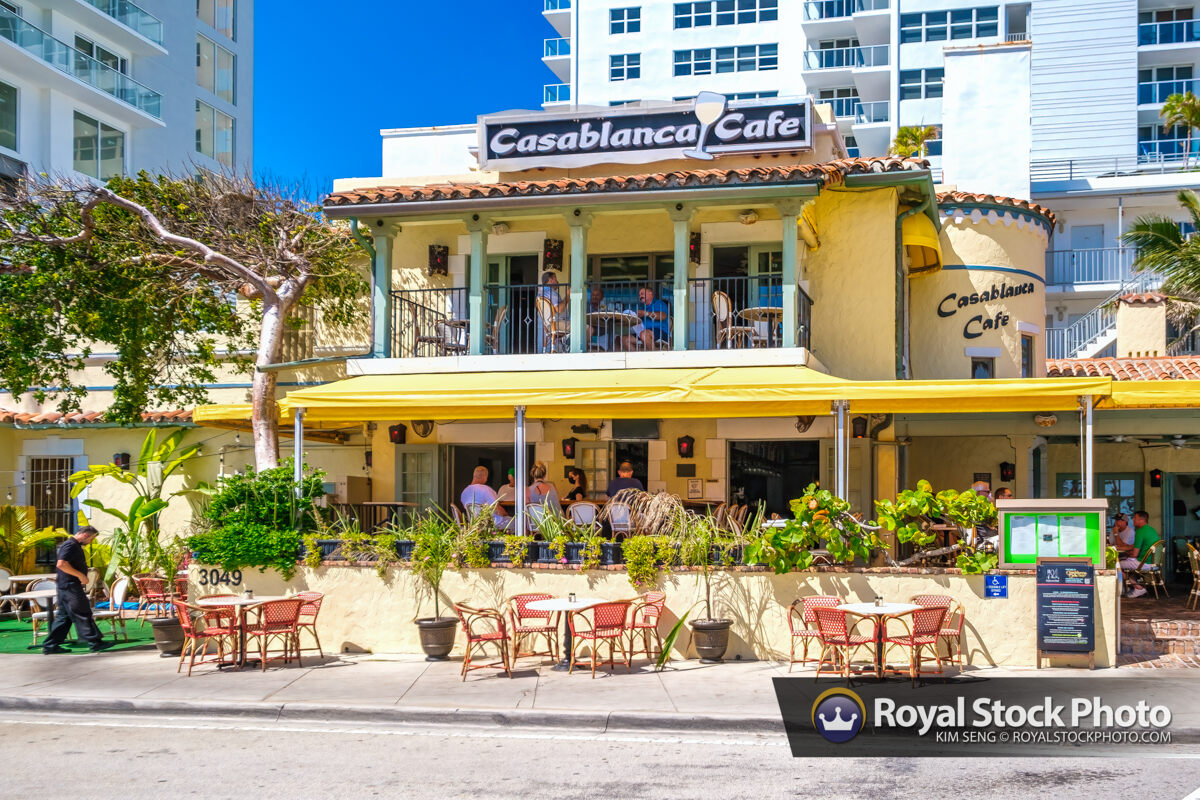 Casablanca Cafe at Beach Fort Lauderdale