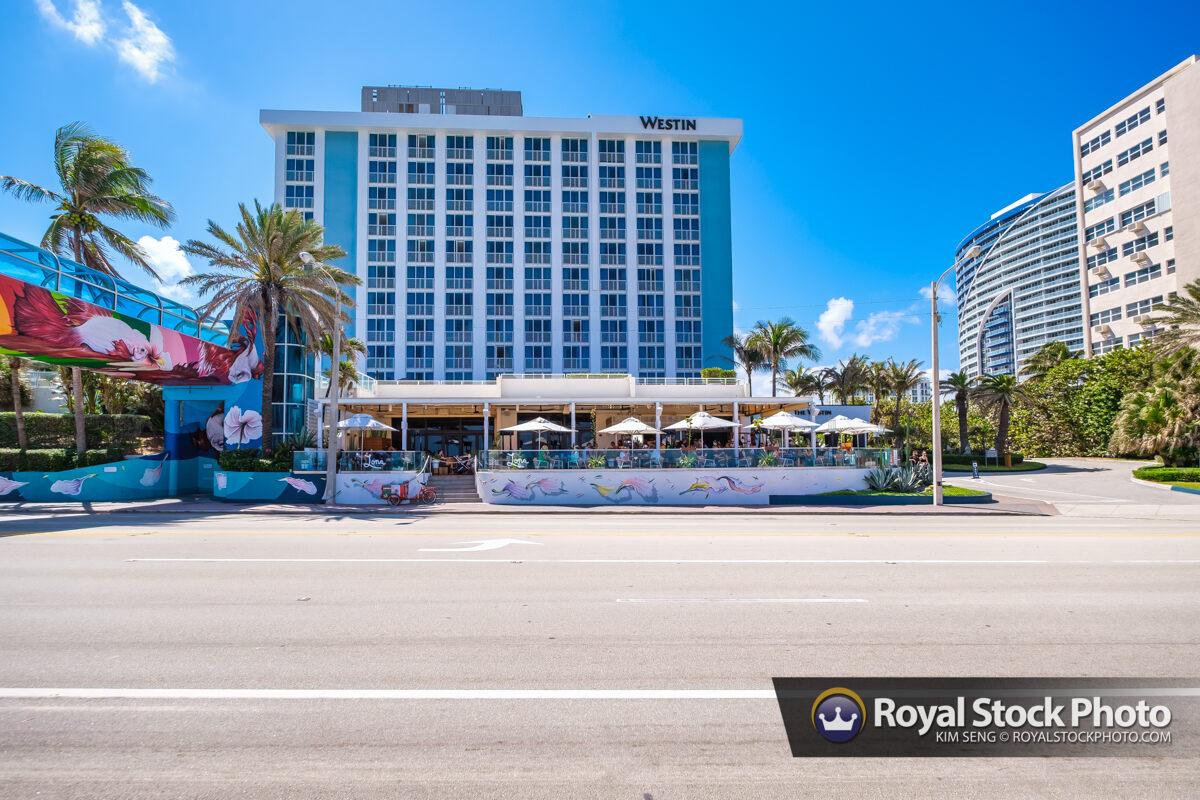 Westin Restaurant Sebastian Street Beach Fort Lauderdale