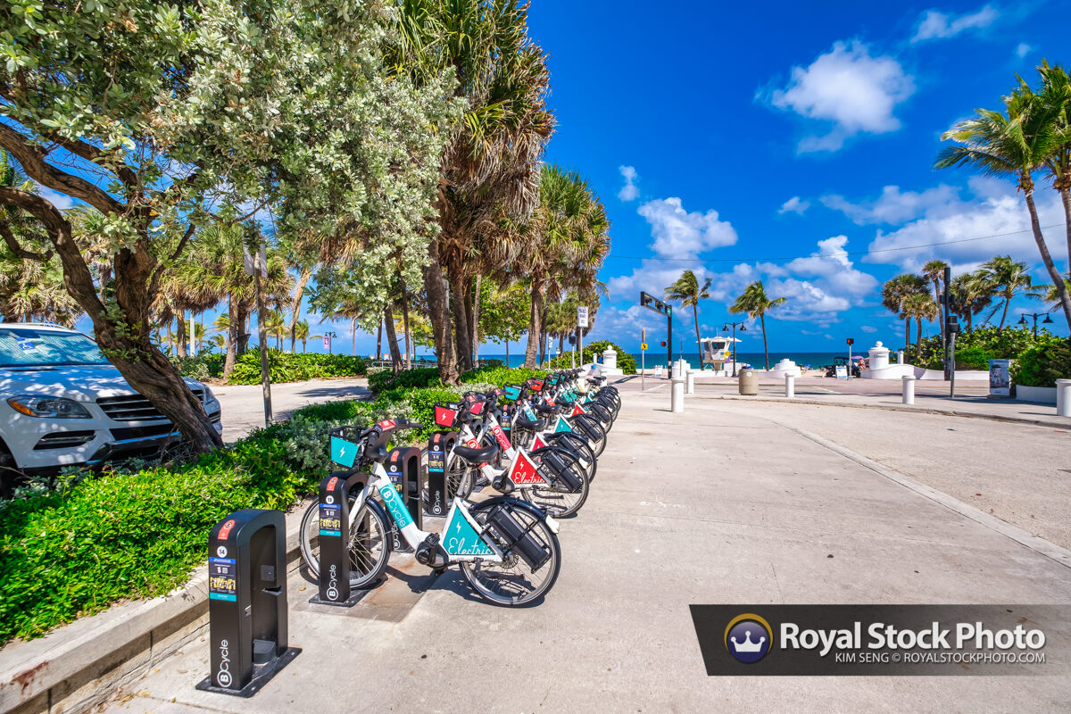 Rental Bicycles Sebastian Street Beach Fort Lauderdale