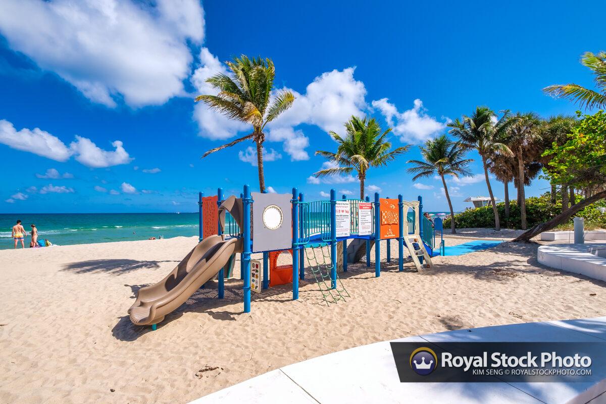Playground Sebastian Street Beach Fort Lauderdale