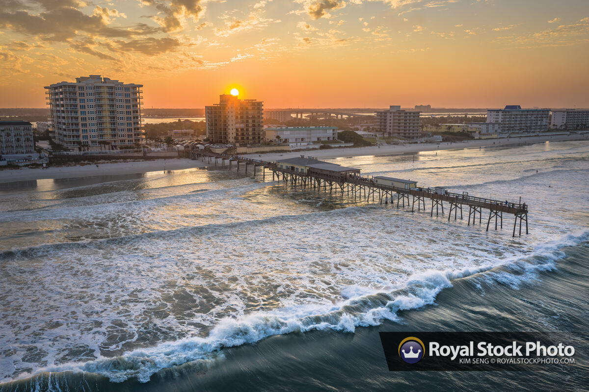 Crabby Joes Deck Grill Sunglow Fishing Pier Daytona Beach Shores